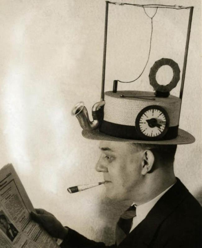 帽子型 ラジオ
