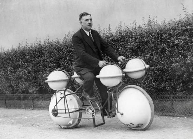 水陸両用自転車