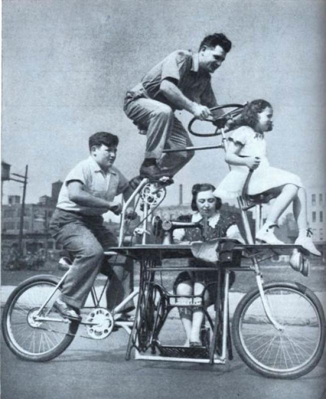 家族用自転車