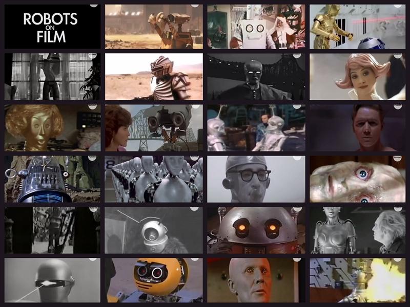年代順ロボット映画