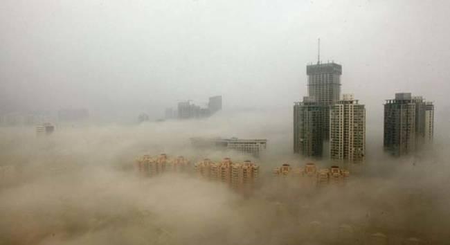 中国環境汚染