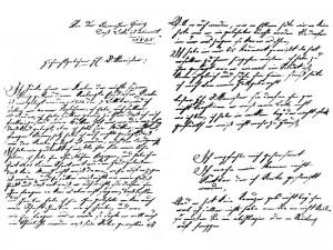 カスパーが持っていた手紙
