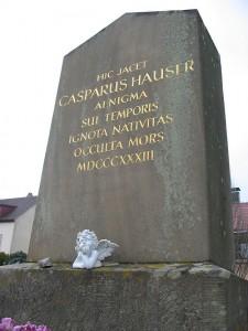 カスパーが眠る墓