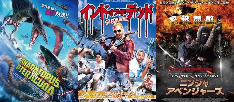2015年公開B級映画