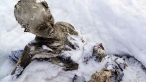 メキシコのオリサバ山で55年前の登山家のミイラが発見