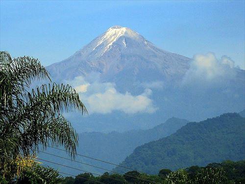 ミイラが発見されたメキシコのオリサバ山画像元(http://ja.wikipedia.org/)