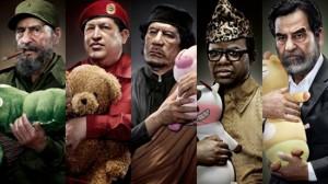 世界の独裁者の美しい肖像画
