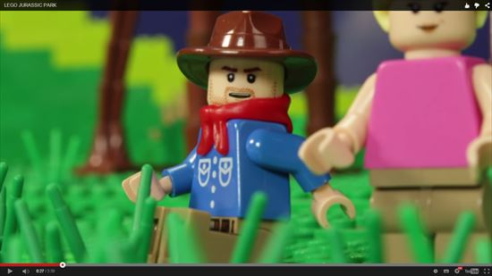 レゴ,LEGO,ブロック,ジュラシックパーク