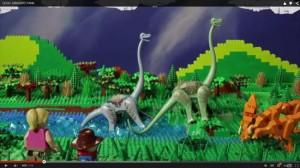 必見! LEGOで完全再現されたジュラシックパーク動画!!