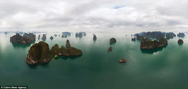 airpano,ドローン,写真