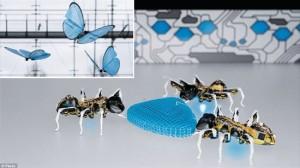 互いに協力して集団で行動!最新昆虫ロボットがスゴイ!