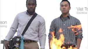 ヒップホップで火事を消火!? 学生が音で火を消すサウンド消火器を開発!