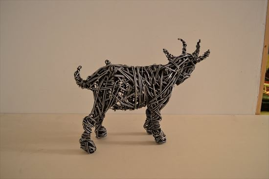 リチャード・スタインソープの針金アート
