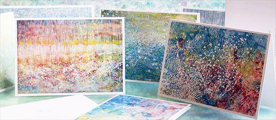 サヴァン症候群のアイリス・グレースが描く美しい絵