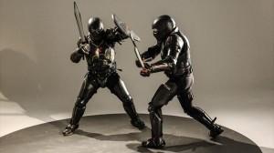 スマート鎧!本物の武器を使用した新世代のスポーツが来年にも誕生か