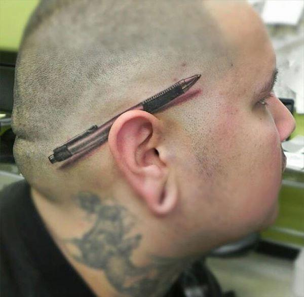 タトゥーだって3Dの時代 3Dタトゥー10選!