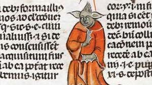 700年前の聖書の挿絵に、スターウォーズのヨーダが描かれていた!?