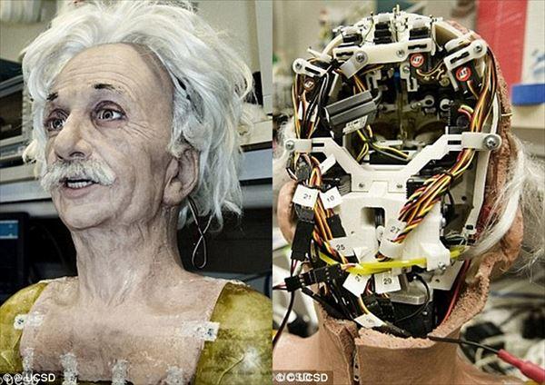 SF時代到来!人間と見分けがつかない程リアルな表情をするロボット