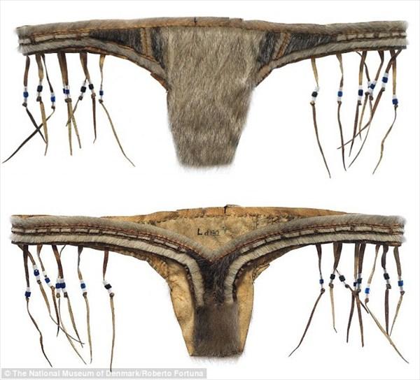 130年前のイヌイットの女性は、毛皮のヒモパンを履いていた!