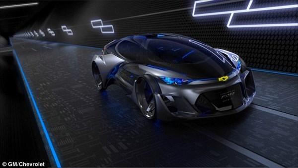 シボレーのコンセプトカー(シボレーFNR)が、もはやトランスフォーマーレベル!