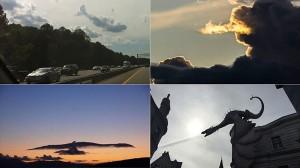 言われてみれば確かに見える! クジラや犬、鳥に見える奇跡の雲写真13枚!