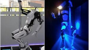 ポールダンスをするためだけに開発された ポールダンスロボット