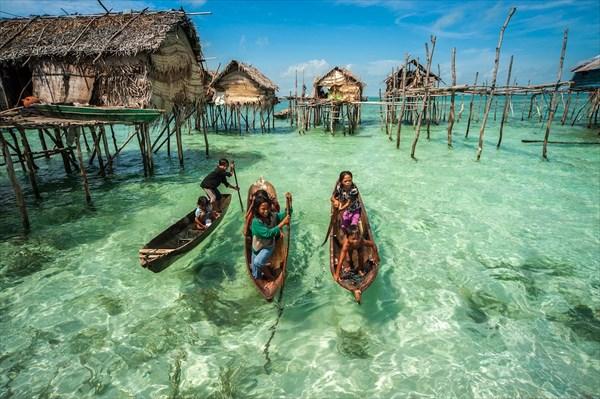 リアルウォーターワールド! 海の上に住むバジャウ族