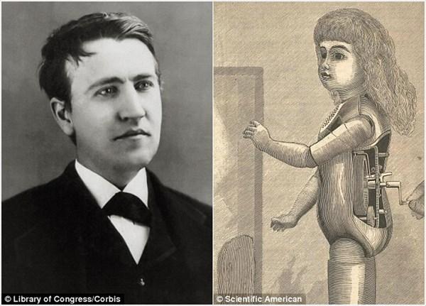 恐怖! 発明王トーマス・エジソンが125年前に作った不気味な声をあげる人形