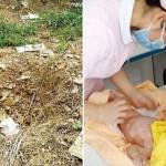 土の中に8日間埋められていた赤ちゃん 奇跡的に一命を取り留める!