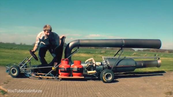 世界最速のゴーカート! DIYでゴーカートにジェットエンジンを積む!