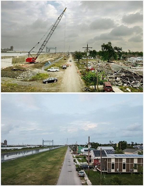 ハリケーン「カトリーナ」から10年 復興した街のビフォーアフター画像10枚