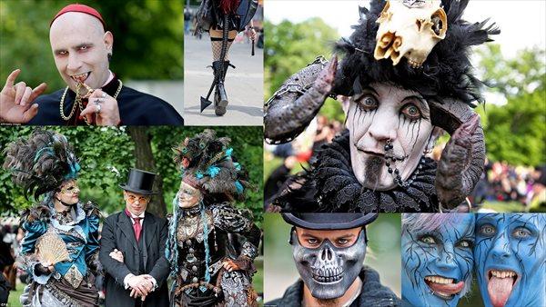 訪問者2万人! サブカルチャーを祝うドイツのウェーブゴシックフェスティバル