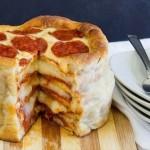 カロリーなんて糞くらえ! 案外簡単なピザケーキの作り方!!