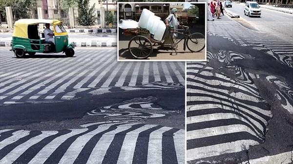 インドの猛暑!道路も溶けてぐにゅぐにゃに!! 画像22枚!
