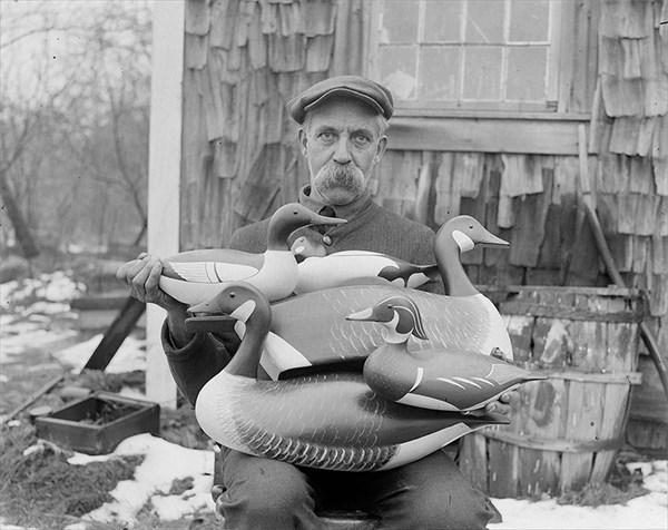 1926、木工職人チャンピオンのジョー・リンカーン