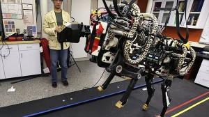 時速48キロで走り、障害物も避けることが出来る「チーターロボット」!
