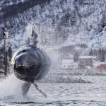 40トンのザトウクジラが披露したアクロバットダイブ!!