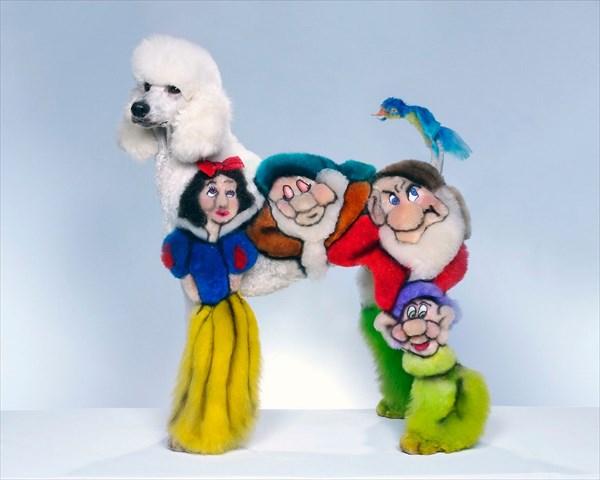 やりすぎ! グルーミングコンテストでトリマーが披露した犬と猫がカラフルすぎ