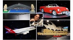 「俺にレゴで作れないものは無い!」LEGO認定のプロアーティストがすごい!