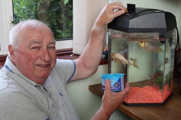 最高齢の金魚とされた38歳スプラッシュより年上!40歳のフレッドとジョージ