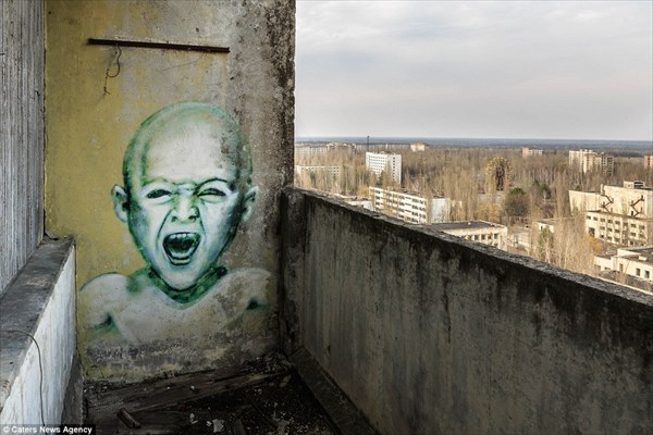 チェルノブイリから3キロ ゴーストタウンとなった町「プリピャチ」の現在