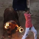 牛追い祭りの上位互換!? 「牛+火」炎の牛追い祭りが超過激!!
