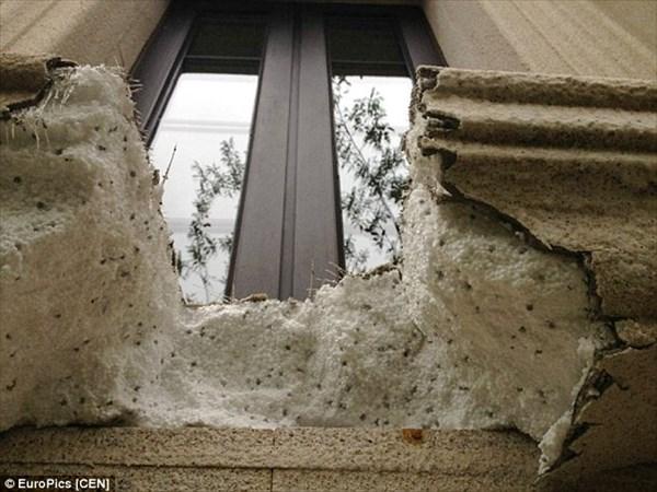 購入者激怒! 中国の欠陥住宅は発泡スチロールでできている!? しかも可燃性