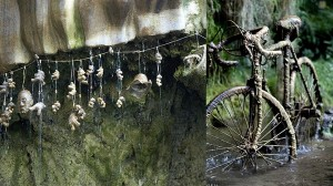 あらゆるものを石化させるイギリス・ヨークシャーの滝(石化井戸)!!