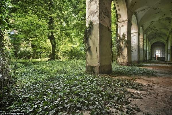 廃墟好きには堪らない! 1978年に閉鎖されたイタリアの精神病院の内部!