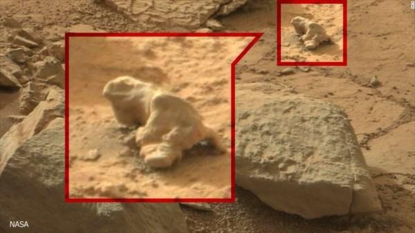 ピラミッドに人魚・宇宙船!? 探査機が火星で撮影した謎の物体!11点!!