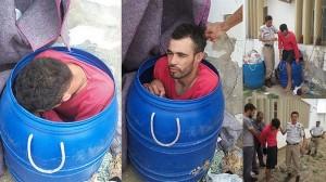 ゴミ箱に入り脱獄しようとした囚人 ゴミ箱の異常な重さで刑務官にバレる!