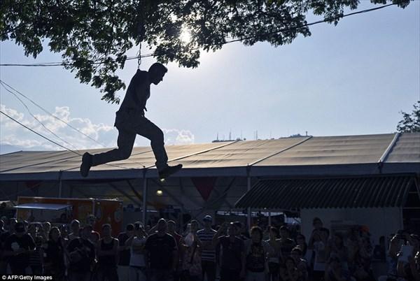 参加者怖すぎ!!コロンビアで開催されたタトゥーフェスティバル!
