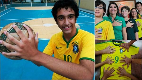 家族そろって6本指(多指症)! ブラジルのダ・シルヴァさんファミリー!!