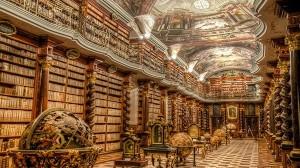 チェコのプラハに存在する「世界で最も美しい図書館」クレメンティヌム図書館!